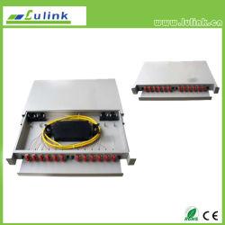 光ファイバパッチ・パネルの端子箱の端子盤ODF