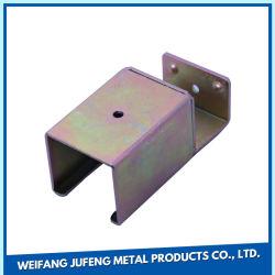 La fabrication de pièces structurelles OEM de feuilles de métal de pièces en acier inoxydable