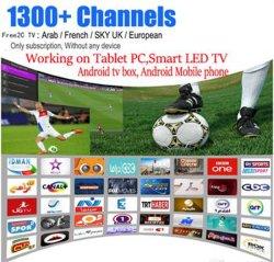 A Sky Tr UK De Árabe francês1300+ Streaming conta IPTV Apk Europa IPTV Suporte IPTV Árabe Android Market Enigma2 Mag 250 254 M3U