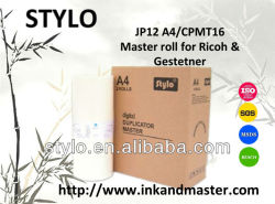Ricoh & Gestetner용 Jp12 A4/Cpmt16 마스터 롤