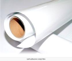 Autoadesivo autoadesivo del PVC di bianco luminoso per stampa del Eco-Solvente