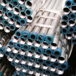 Il materiale Q195, Q215, Q235, programma 40 lo standard, BS1387, ASTM A500, ASTM A795, ASTM A53, tubi d'acciaio galvanizzati 2 pollici