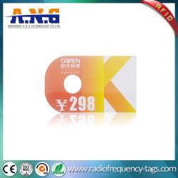 De forme irrégulière de carte de membre de PVC RFID personnalisé