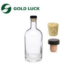 Пустых стеклянных бутылок для напитков/воды/напитки/газированные напитки/молока и оливкового масла очистить стеклянную бутылку