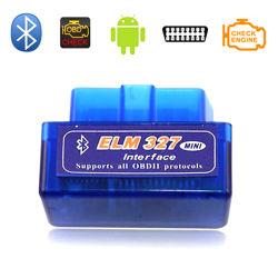 낮은 소비 소형 OBD 느릅나무 327 스캐너 Obdii 차 부호 독자 Elm327 V1.5 OBD Sanner