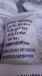 Phthalicanhydrideの白い鉛白の粉