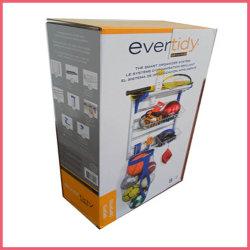 Produit chaud personnalisé boîtes d'emballage Cartons de papier ordinaire