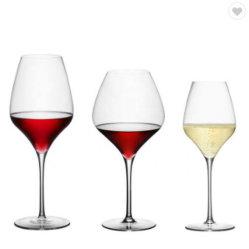 Vetro di vino bianco di cristallo lungo reso personale delle merci domestiche della Borgogna del gambo