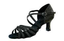 도매 2 컬러 하이 힐 프로페셔널 댄싱 신발 레이디스 볼룸 라틴 여성용 댄스화