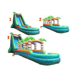 Giant Commercial Inflatable Water Slide N Slip In Vendita Chsl662
