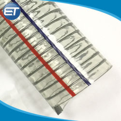 Дешевые Smelly ПВХ спираль стальной проволоки усиленные шланг / трубы / трубы
