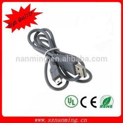 Tipo de cable del USB del Pin del MP3 MP4 5 mini B