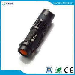 بطارية صغيرة قابلة للتكبير والتصغير CREE Q5 LED قابلة للتكبير والتصغير بحجم 500 lm AA مصباح LED وامض