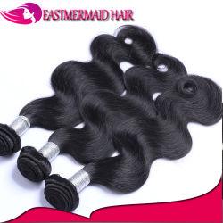 ペルーボディ波の毛の拡張Remyはブラジルの人間の毛髪を束ねる