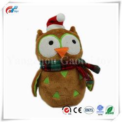 Buho Peluche personalizado de juguetes de peluche de Navidad