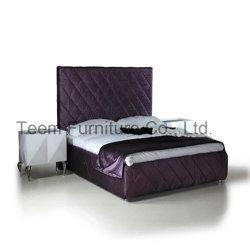 현대적인 침대 목재 프레임 침실 가구 침대