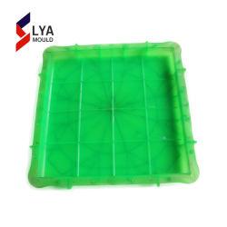 Le muffe di gomma di plastica delle mattonelle per fanno il lastricatore dell'interruttore di sicurezza