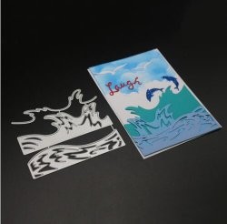 Custom границе металла Touch Zone штампов штампов для резки бумаги разработки