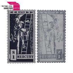 Fabrik-Preis-bunter gedruckter Marke Polyster Kennsatz/Kleid-Drucken-Kennsatz