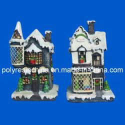 Polyresin casa jardín, la resina Casa decorativos artesanía