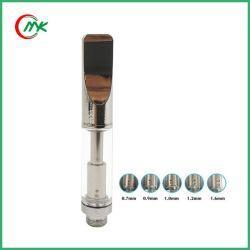 Cartucho de vidro do logotipo OEM 92A3 Bobina Dupla Vape vaporizador de caneta