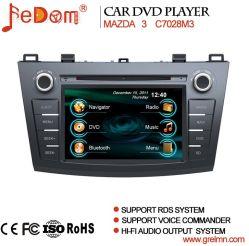 نظام ملاحة نظام تحديد المواقع العالمي (GPS) لقرص DVD للسيارة لـ Mazda