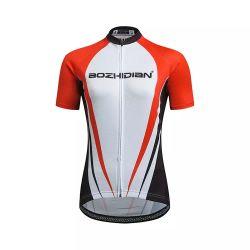 Camice di sport di riciclaggio di marchio delle signore delle camice della bici di prestazione atletica delle donne