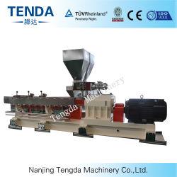 プラスチック押出機機械を粒状にするTsh-75 PC/PE Tenda Masterbatch