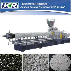 Tse-75 Pp Met Sbs Tpr Sole Material Water Ring Pelletiserende Plastic Extruder Machine