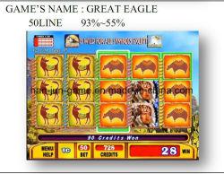 Grande Eagle-50 riga macchina elettrica di gioco del gioco della scanalatura della galleria video del casinò