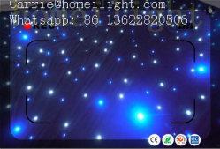 Prezzo più poco costoso della fabbrica che Wedding il panno Starlit bianco blu romantico del contesto della tenda dell'indicatore luminoso LED