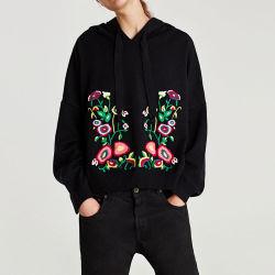 Stickerei Hoodies der Frauen/Sweatshirt-Pullover-Strickwaren