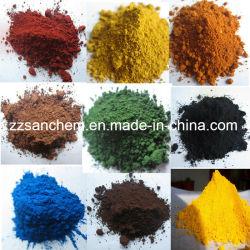 Eisen-Oxid-Pigmente für Kleber-Fliesen und Straßenbetoniermaschinen