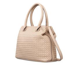 De nieuwe Handtassen van de Dames van de Manier van het Patroon van het Weefsel van de Zak van de Schouder van de Stijl Trendy Draagbare Enige Recentste