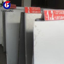 Plaque décorative en acier inoxydable
