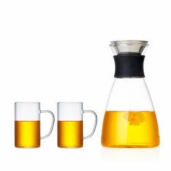 Borosilicaat Glas fruitsap Pot Set aanpassen glazen water Pitcher Set glazen spaaners