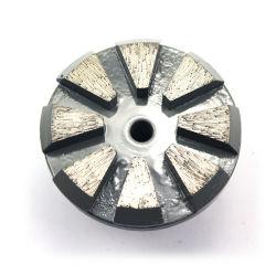 L'outil abrasif de disque de meulage de diamant pour plancher en béton