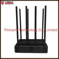 80W 8CH/Nueva Lojack Jammer/Blocker para teléfono móvil+Lojack+GPS/ L1/L2/Wi-Fi/Bluetooth2.4G/ 8 banda celular Jammer precio de fábrica de la señal de control remoto