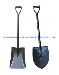A fábrica venda directa de Punho de Aço Todo o metal de cavar e Jardim carregadoras soldadas de aço redonda Cabeça Pá S518meu carregadoras e para o mercado indiano