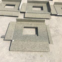 Bancada de granito verde para parede/Flooring etapas/Escada/Lado a vaidade de Cima /Pedra de Pavimentação