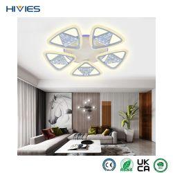 هيفيس بيندول LED حديث مصابيح أكريليك دائري LED بندول ضوء لفندق Home Hotel ديكور داخلي ضوء سقف LED