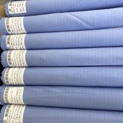 Plain Tingidos de carbono à prova de nível AAMI II Medical vestido cirúrgica peça de vestuário de tecido de poliéster