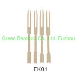 Fruta biodegradables desechables/Aperitivos Picks /la horquilla de bambú