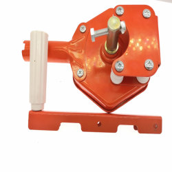 Rollo de película manual de la unidad de gases de efecto