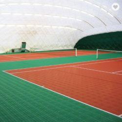 携帯用屋外の耐久の連結の中断プラスチックはバスケットボールのための裁判所のフロアーリングを遊ばす