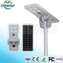 Ukisolar 2020 새로운 알루미늄 LED 태양 거리 도로 공도 정원 경경 프레임 토치 빛