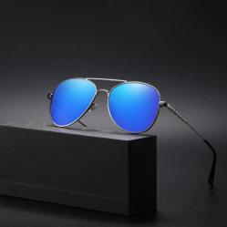 Occhiali da sole polarizzati Driving Mirror Metal Frame Fashion Outdoor UV400 Sun Occhiali per uomo e donna Vms028