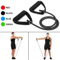 120cm ioga puxe a corda Bandas de resistência de Goma de Fitness bandas elásticas Equipamento Fitness Expansor de borracha faixa de Treinamento de exercícios de treino