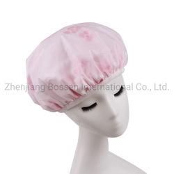 Aangepast OEM van de Fabriek van China drukte het Multifunctionele Katoen Microfiber Terry Shower Cap van EVA af