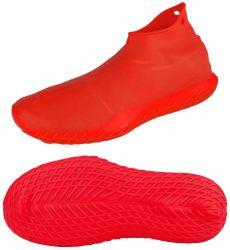 Rubberen schoenbeschermers herbruikbare siliconen waterdichte schoenovertrekken, No-Slip Silicone for Kids, men and Women